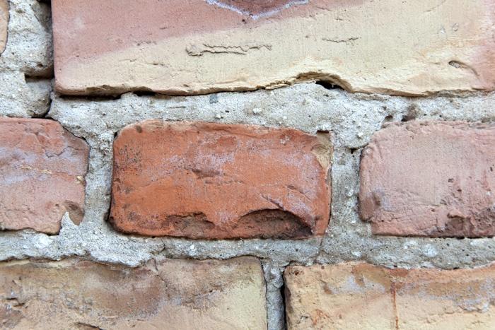 photo series, surfaces V, bricks and walls, 2010-12, by Charlie Alice Raya